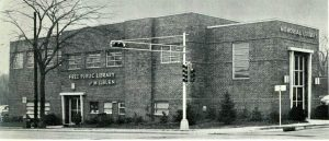 The old Millburn Library